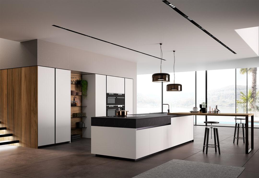 cucina modello glass